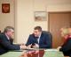 Андрей Бочаров провел рабочую встречу по вопросам возведения храма Александра Невского