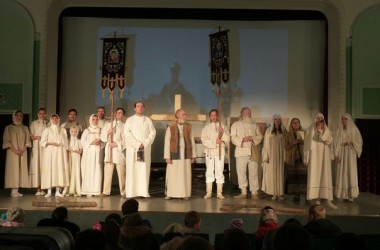 Театр «Благодатное небо» везет «Русский крест» в Санкт-Петербург