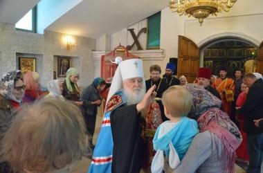 В среду Светлой седмицы  митрополит Волгоградский и Камышинский Герман совершил Божественную литургию
