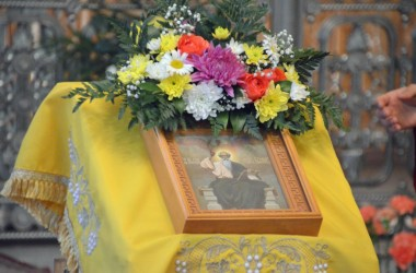 В канун дня апостола и евангелиста Иоанна Богослова митрополит Волгоградский и Камышинский Герман совершил Всенощное бдение