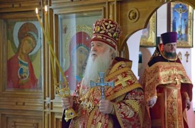 В день памяти священномученика Иосифа Астраханского митрополит Волгоградский и Камышинский Герман совершил Божественную литургию