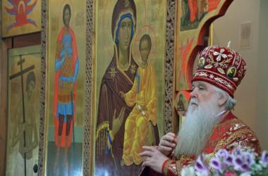 В день великомученика Георгия Победоносца митрополит Волгоградский и Камышинский Герман совершил Божественную литургию