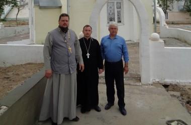 Делегация отдела тюремного душепопечения посетила камышинские исправительные учреждения