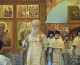 Божественная литургия в Свято-Духовом монастыре в Неделю 7-ю по Пасхе