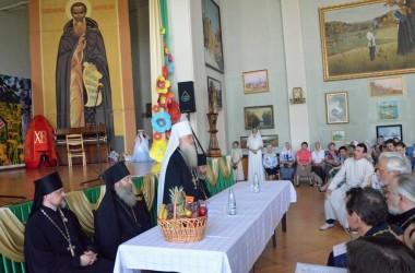 Вручение дипломов выпускникам Царицынского православного университета