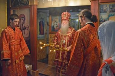 Божественная литургия в день празднования памяти великомученика Пантелеимона