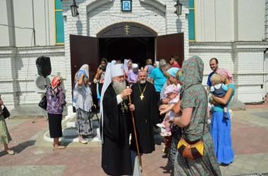 Божественная литургия в Свято-Сергиевском храме