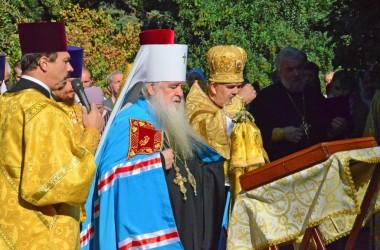 Божественная литургия в Александро-Невской часовне