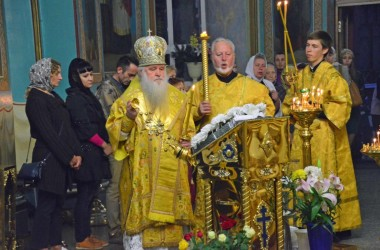 Всенощное бдение в соборе Казанской иконы Божией Матери