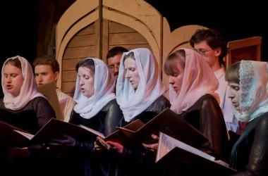 Мероприятие, посвященное Покрову Пресвятой Богородицы, прошло в Волгоградском музыкально-драматическом    казачьем    театре