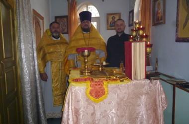Прихожане храма при ЛИУ-15 отметили престольный праздник