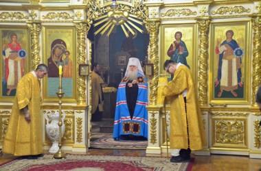 Божественная литургия в Казанском соборе (27 ноября 2016 года)