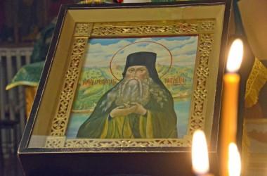 Божественная литургия в день прп. Паисия Величковского