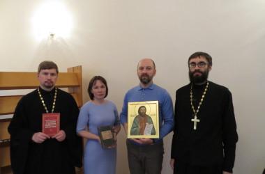 Прошла презентация книги о священномученике Николе Попове