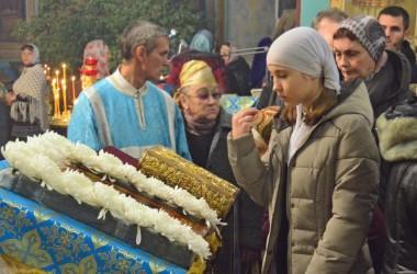 Всенощное бдение в канун празднования Введения во храм Пресвятой Богородицы