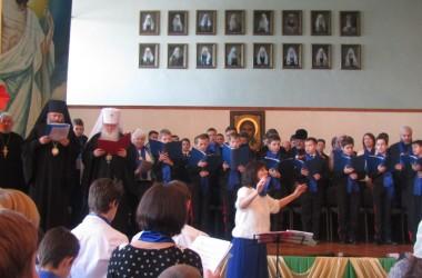В хоровом соборе имени Александра Невского приняли участие 600 человек