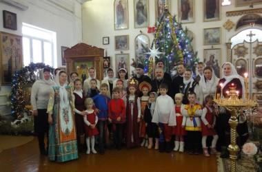 Фестиваль воскресных школ, посвященный Рождеству Христову, прошел в Советском районе