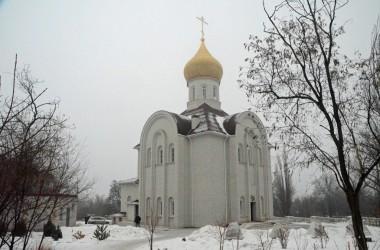 Божественная литургия в храме Веры, Надежды,Любви и Софии