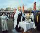 Крестный ход и молебен на Центральной набережной в праздник Святого Богоявления