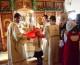 Божественная литургия в Богоявленском храме
