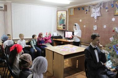 Рождество Христово стало темой совместного урока для воспитанников воскресной школы «Вдохновение» и их родителей