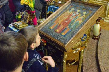 Божественная литургия в Неделю о Страшном Суде