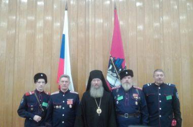 Казаки Благовещенской станицы приняли участие в XXV Международных Рождественских образовательных чтениях