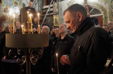 Иерей Андрей Горячев посетил камышинские исправительные учреждения