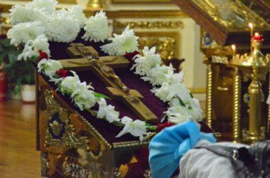 Чин Пассии в Казанском соборе