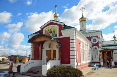 Литургия Преждеосвященных Даров в храме вмц. Параскевы