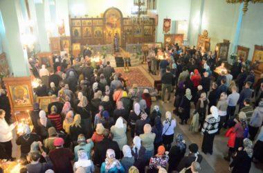 Всенощное бдение в канун празднования памяти священномученика Николая Попова