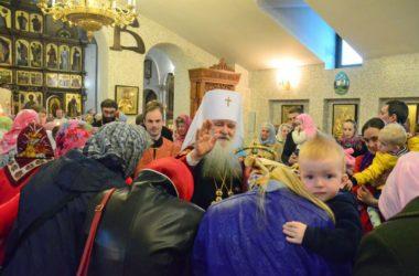 Божественная литургия в Среду Светлой седмицы