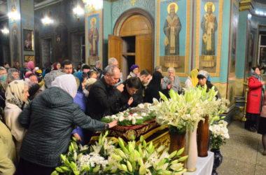 Чин погребения плащаницы Господа Иисуса Христа