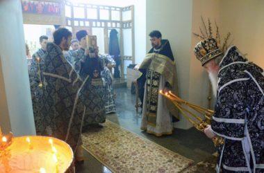 Литургия  Преждеосвященных Даров в Великий Понедельник