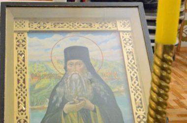 Литургия Преждеосвященных Даров в храме прп. Паисия Величковского
