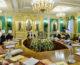 Заседание Священного Синода Русской Православной Церкви прошло в Патриаршей резиденции в Даниловом монастыре