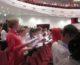 Пасхальные песнопения и народные песни исполнил в Волгограде тысячный хор школьников