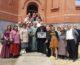 Первый молебен отслужен в строящемся Александро-Невском соборе