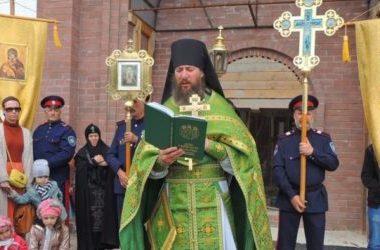 Престольный праздник состоялся в Свято-Троицком Каменно-Бродском мужском монастыре