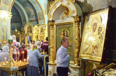 Всенощное бдение в Казанском соборе (27 мая 2017 года)