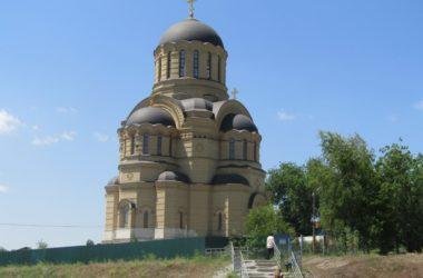 Храм Иоанна Кронштадского в Волгограде. Беседа с настоятелем