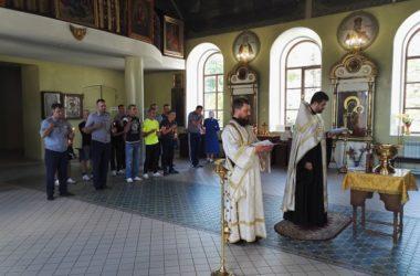 Никольский собор посетили воспитанники Камышинской воспитательной колонии