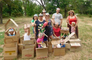 Веселые игры для особенных детей провели волонтеры Никольского добровольческого движения