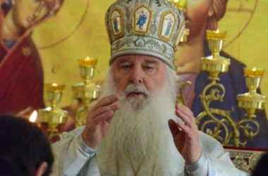 Божественная литургия в храме архангела Гавриила