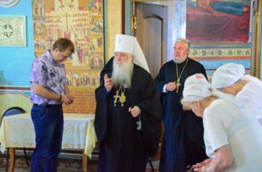 Всенощное бдение в Казанском соборе (22 июля)
