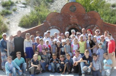 Завершилась смена летнего православного лагеря при храме Иоанна Кронштадтского