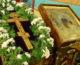 Божественная литургия в праздник Происхождения Честных Древ Животворящего Креста Господня