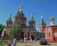 Божественная литургия в Казанском соборе (6 августа)