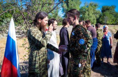 Военно-патриотический православный лагерь «Горлица» завершил смену в Заволжье