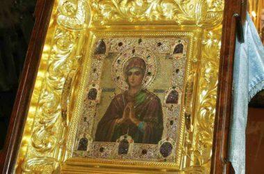 В Волгоград прибывает чудотворная икона Пресвятой Богородицы «Умягчение злых сердец»